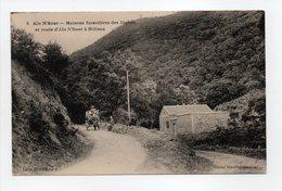 - CPA Aïn N'Sour (Algérie) - Maisons Forestières Des Righas Et Route D'Aïn N'Sour à Miliana - Cliché Moullet-Jeanbar - - Algeria