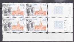 N° 2657 Série Touristique Abbaye De Cluny  Beau Bloc De 4  Timbres Neuf Impeccable - France