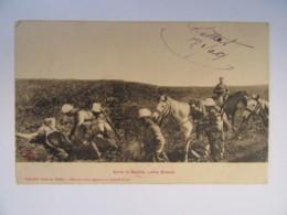 """Maroc - Envoi Militaire Corps Débarquement Casablanca - CPA """"Après La Bataille - Nos Blessés"""" - 1909 (Trésor Et Postes) - Guerres - Autres"""