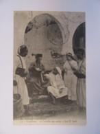 Maroc - Envoi Militaire - Casablanca - Contrôle Des Sorties à Bab-El-Souk - Cachet Trésor Et Postes Aux Armées - 1908 - Personnages