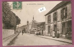 Cpa La Saulsotte Grande Rue - Collection Gaucher - France