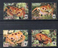 AITUTAKI Timbres Neufs ** De  2014  ( Ref  743  ) Mer - Animaux - Crabes - Aitutaki