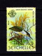 SEYCHELLES    1979    2r  Green  Heron    USED - Seychelles (1976-...)
