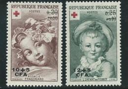 REUNION CFA: **, N° 353 Et 354, TB - Reunion Island (1852-1975)