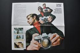 PUBLICITE PHOTO ARGENTIQUE CANON En 1970 - CANON EE EX - Werbung