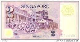 SINGAPORE P. 46d 2 D 2006 UNC - Singapore