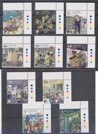 Singapore Bicentennial 2019 History Ships Raffles Policeman Soldier 10v MNH - Singapore (1959-...)