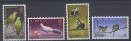 Jersey 1971 Wildlife 4v ** Mnh (43835F) - Jersey