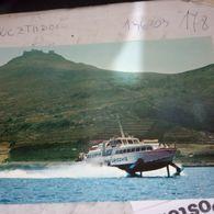 FAVIGNANA ISOLA  (TRAPANI) NAVE SHIP  ALISCAFO PINTURICCHIO  N1980 HD10434 - Trapani