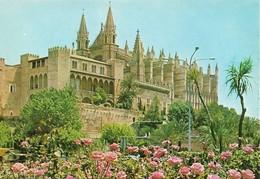 Espagne Palma De Mallorca La Catedral (2 Scans) - Mallorca