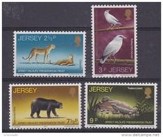 Jersey 1972 Wildlife 4v ** Mnh (43836J) - Jersey