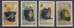 Jersey 1972 Royal Militia 4v ** Mnh (43835K) - Jersey