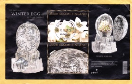 "2006: Block ""Winter Egg"" By Carl Faberge - Gebraucht"