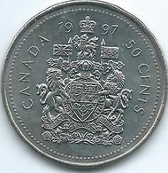 Canada - Elizabeth II - 50 Cents - 1997 - KM290 - Canada