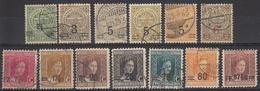 LUXEMBURG - Michel - 1915 - Nr 107/19 - Gest/Obl/Us - 1914-24 Marie-Adelaide