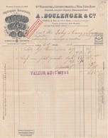 94 - CRETEIL - Orfévrerie Boulenger &Cie Usine à Créteil (facture Datée 1893) - Creteil
