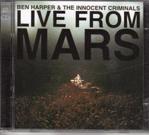 "BEN HARPER & THE INNOCENT CRIMINALS ""LIVE FROM MARS"" (2CD) - Musik & Instrumente"
