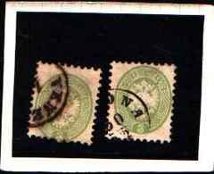 6040 ) LOMBARDO-VENETO-3 Soldi Aquila Bicipite In Rilievo-Quarta Emissione, Dentellati 9½ - 1864-USATO UN PEZZO - Lombardo-Veneto