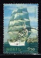 Norwegen 2005, Michel# 1542 O  Sailing Ships: Sorlandet - Norwegen