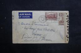 CANADA - Enveloppe De Vancouver Pour La France En 1942 Et Redirigé Vers Monaco, Contrôle Postal - L 36662 - Cartas