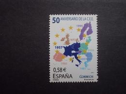 Spanien   Mitläufer  50 Jahre Römische Verträge   2007      ** - Idee Europee