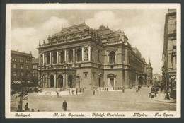 Ansichtskarten  -M. Kir. Operahaz, Königl. Opernhaus  Budapest - Ungarn