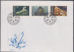 Liechtenstein 1989 Minerals 3v FDC (43839) - FDC