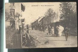 CPA 71 Demigny - Noce Bourguignonne  - Circulée 1909 - France