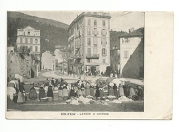 CPA - Côte D'Azur - Lavoir à Grasse, Animée - Grasse