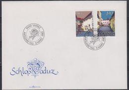 Liechtenstein 1987 Schloss Vaduz 2v FDC (43843) - FDC