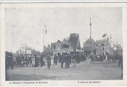 Le Désastre De L'Exposition De Bruxelles - Av. Des Nations - 1910         (A-103-160623) - Fêtes, événements