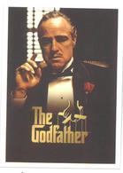 Adesivo Decalcomania Sticker Film Il Padrino The Godfather Regia: Francis Ford Coppola Dimensioni Cm 7x5 Circa - Adesivi