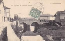 Saône-et-Loire - Cluny - Pont Sur La Levée - France