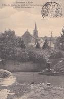 Souvenir D'Eich/ Vue De L'Alzette Coulant Au Pied De L'église - Esch-sur-Alzette
