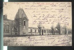 CPA 71 Génelard - Groupe Scolaire  - Circulée 1907 - Altri Comuni