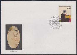 Liechtenstein 1995 Paul Wunderlich 1v FDC (43848) - FDC