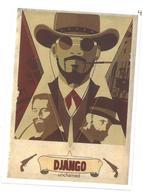 Adesivo Decalcomania Sticker Film Django Unchained Diretto Da Quentin Tarantino, Con Protagonisti Jamie Foxx, Christoph - Adesivi