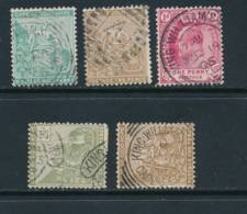 CAPE Of GOOD HOPE, 5 Different KING WILLIAMS TOWN Postmarks - South Africa (...-1961)