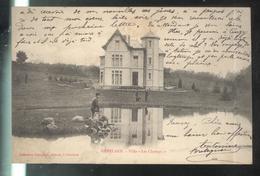CPA 71 Génelard - Villa Les Champs  - Circulée 1905 - Altri Comuni