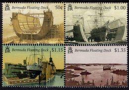 Bermuda - 2019 - Bermuda Floating Docks - Mint Stamp Set - Bermuda