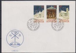 Liechtenstein 1992 Christmas 3v FDC (43851) - FDC