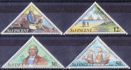 Saint Vincent 328/31 ** - Christophe Colomb