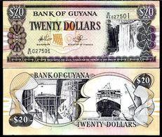10 Pieces Guyana - 20 Dollars 2009 UNC - Guyana
