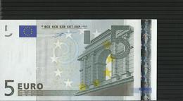 5 EURO SPAIN M002 I5 UNC V02089689997 DUISENBERG - 5 Euro