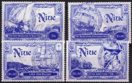Niue 698/701 ** - Exploradores