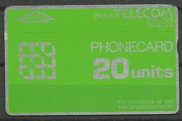 Great Britain British Telecom Phoncard 20 Units - Schede Telefoniche