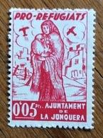 PRO REFUGIATI 0,05 AJKUNTAMENT DE LA JONQUERA - Erinnofilia