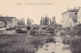 Saône-et-Loire - Cluny - La Grosne Au Pont De La Levée - Cluny