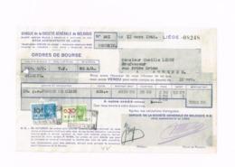 """Ordre De Bourse.""""Forges De Ciney"""" Andenne. - Bank & Insurance"""