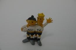 Vintage FIGURE : TIPTAP FOOTBALL SOCCER WM 1974 FIFA WORLD CUP MASCOT CHAMPION - Germany -  RaRe - 1974's - Figuur - Figurines